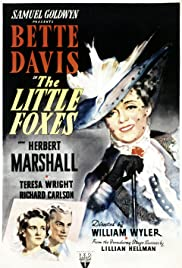 The Little Foxes Poster