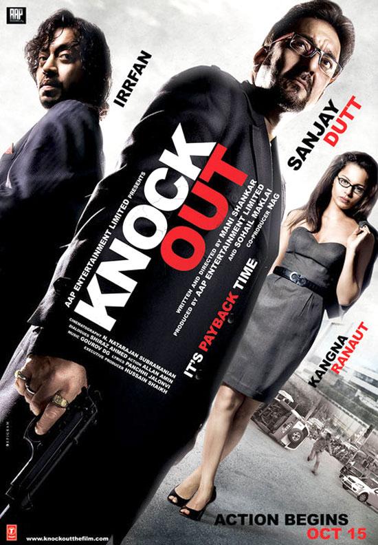 Knock Out 2010 Hindi 720p HDRip x264 AAC - Hon3yHD