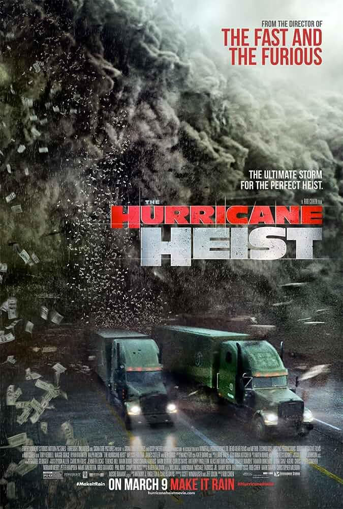 The Hurricane Heist (2018) 720p HDRip Dual Audio 850MB