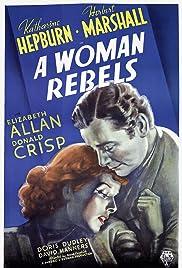 A Woman Rebels(1936) Poster - Movie Forum, Cast, Reviews