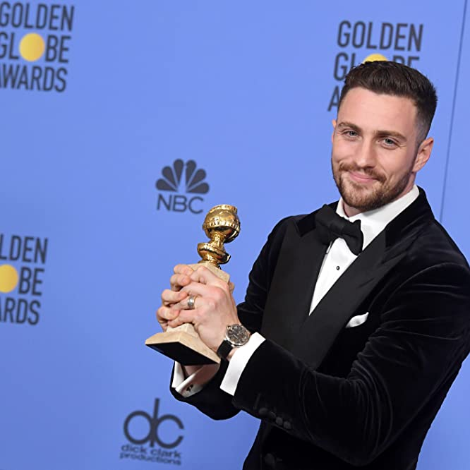 Aaron Taylor-Johnson at an event for The 74th Golden Globe Awards (2017)