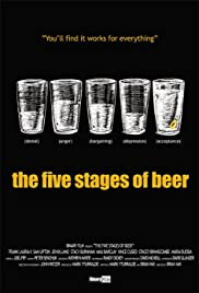 The Five Stages of Beer Poster