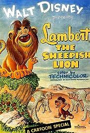 Lambert the Sheepish Lion Poster