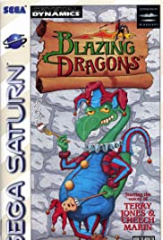 Blazing Dragons Poster