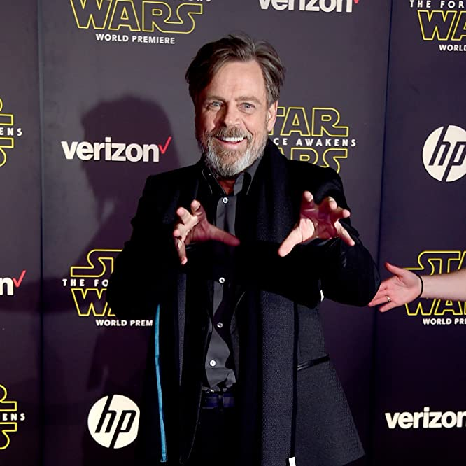 Mark Hamill at an event for Star Wars: The Force Awakens (2015)