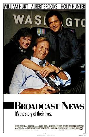 Broadcast News movie poster