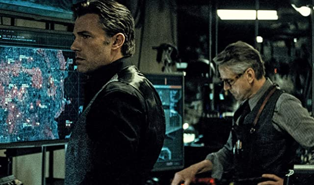 Still of Ben Affleck and Jeremy Irons in Batman v Superman: Dawn of Justice (2016)