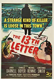 The 13th Letter Poster
