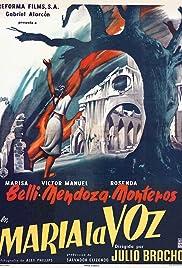 María la Voz Poster