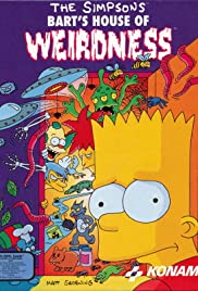 The Simpsons: Bart's House of Weirdness Poster