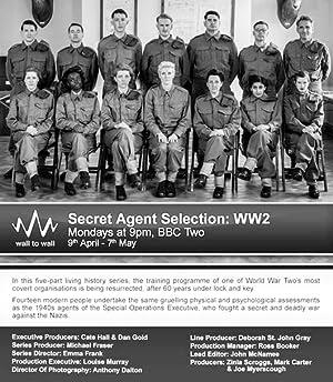 Secret Agent Selection WW2