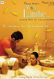 Woh Lamhe(2006) Poster - Movie Forum, Cast, Reviews