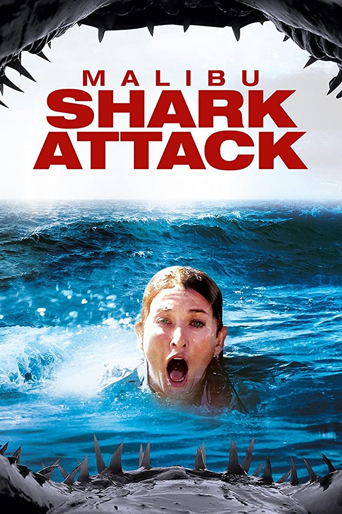 Malibu Shark Attack (2009) Dual Audio Hindi 250MB BluRay 480p x264