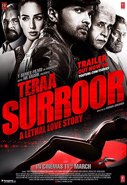 Poster Of Teraa Suroor 2 (2016) Full Movie Download 300MB In Hindi English Dual Audio 720P Compressed Small Size Pc Movie at movies365.in