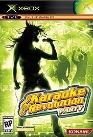 Karaoke Revolution Party Poster