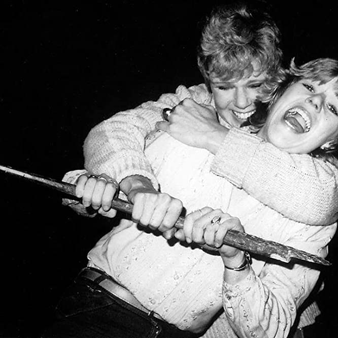 Adrienne King and Betsy Palmer in Friday the 13th (1980)