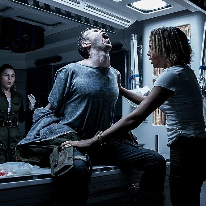 Carmen Ejogo, Amy Seimetz, and Benjamin Rigby in Alien: Covenant (2017)