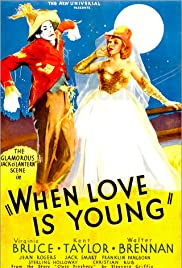 When Love Is Young Poster