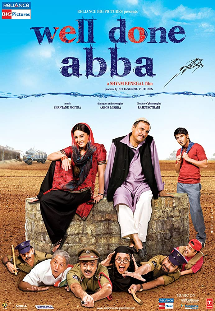 Well Done Abba 2010 Hindi Movie 720p HDRip Download Watch Online at www.movies365.in