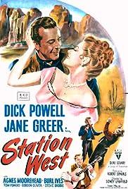 Station West(1948) Poster - Movie Forum, Cast, Reviews