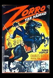 Zorro the Invincible Poster
