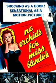 No Orchids for Miss Blandish (1948) Poster - Movie Forum, Cast, Reviews