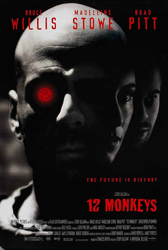 Twelve.Monkeys (1995) Dual Audio 720p BluRay x264 [Hindi -English] ESubs