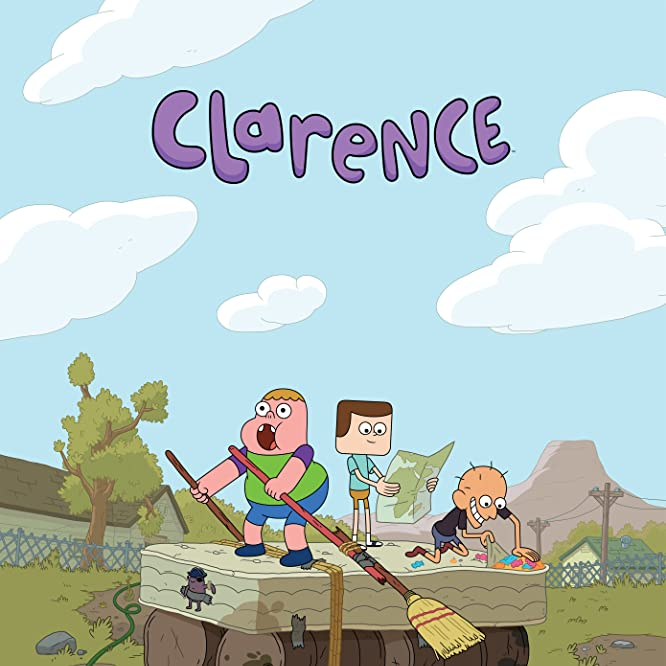 Tom Kenny, Sean Giambrone, and Spencer Rothbell in Clarence (2013)