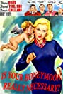 Is Your Honeymoon Really Necessary (1953) Poster