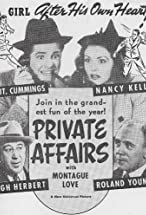 Primary image for Private Affairs