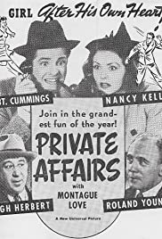 Private Affairs Poster
