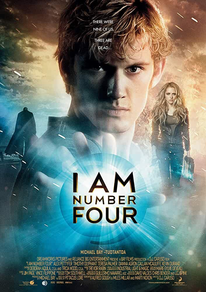 I Am Number Four (2011) Hindi Dual Audio BRRip 720p ESubs