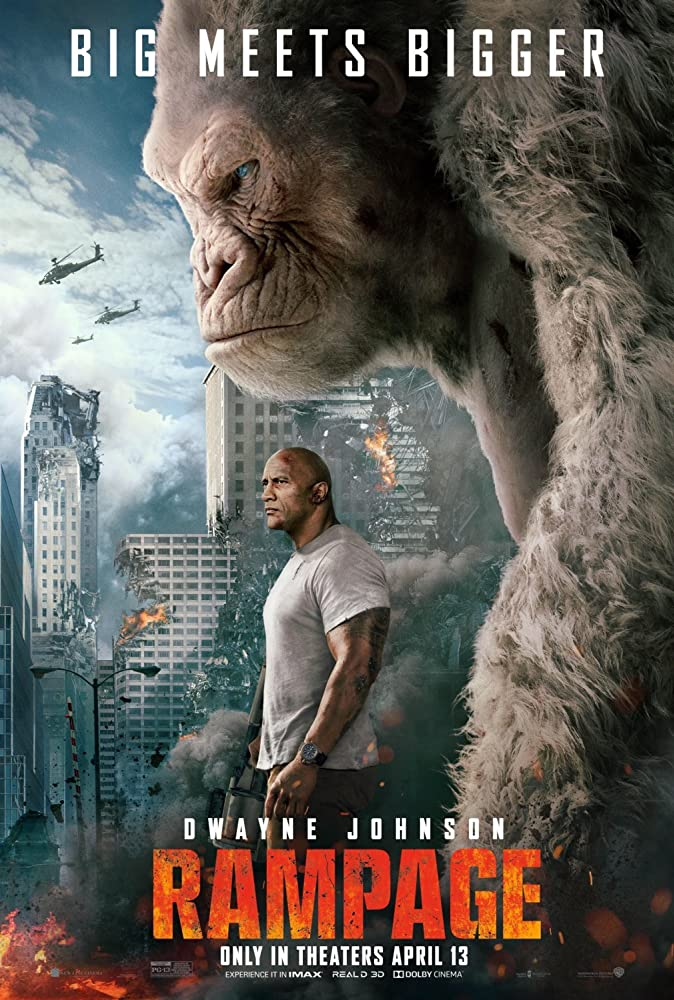 Rampage 2018 Dual Audio Movie 826MB