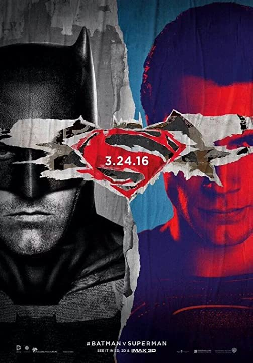 Poster Of Batman v Superman: Dawn of Justice (2016) Full Movie Hindi Dubbed Free Download Watch Online At movies365.in