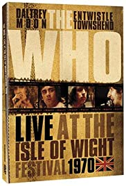 Listening to You: The Who at the Isle of Wight 1970 Poster