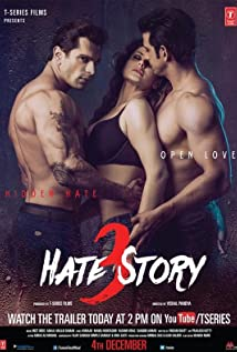 Hate Story 3 (2015) Poster
