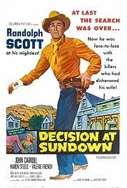 Decision at Sundown(1957) Poster - Movie Forum, Cast, Reviews