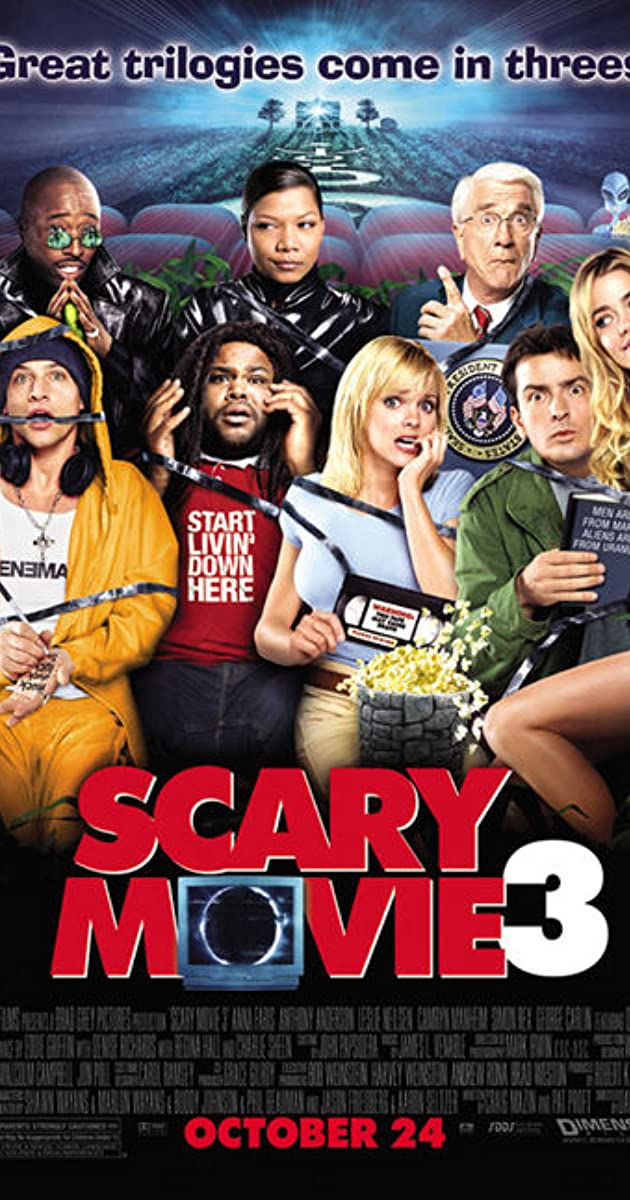 Scary movie 3 cast