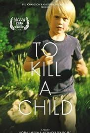 Att döda ett barn Poster