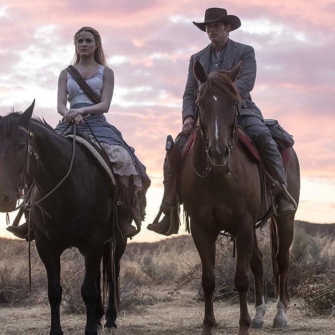 James Marsden and Evan Rachel Wood in Westworld (2016)