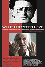 What Happened Here? Poster
