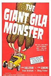 The Giant Gila Monster Poster