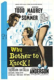Why Bother to Knock Poster