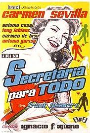 Secretaria para todo Poster