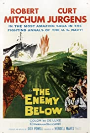 The Enemy Below (1957) Poster - Movie Forum, Cast, Reviews
