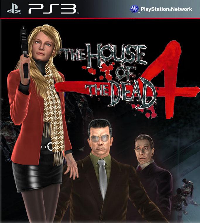 Kết quả hình ảnh cho House of the Dead 4 cover ps3