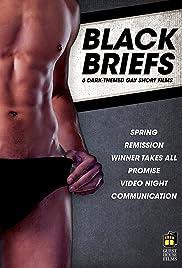 Black Briefs Poster