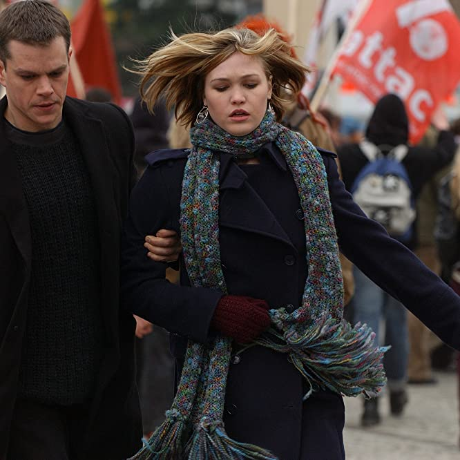 Matt Damon and Julia Stiles in The Bourne Supremacy (2004)