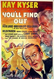 You'll Find Out Poster