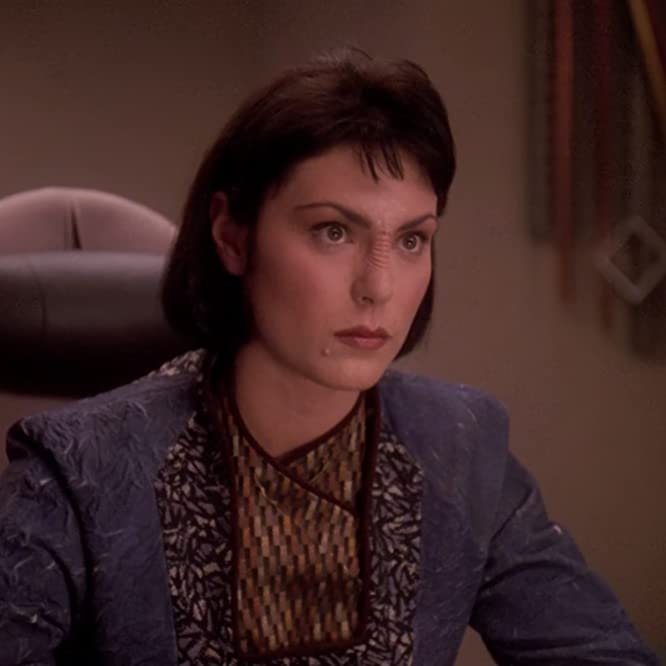 Michelle Forbes in Star Trek: The Next Generation (1987)